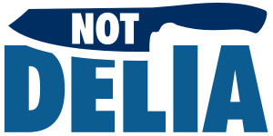 Not Delia logo