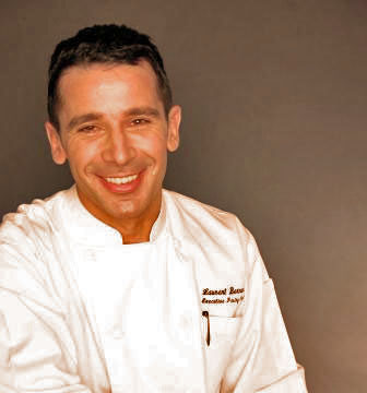 Laurent Bernard in a chef's jacket