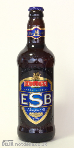 A bottle of Fuller's Extra Special Bitter ale