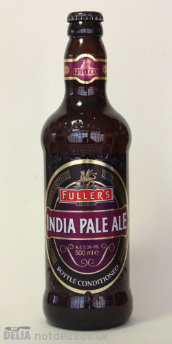 A bottle of Fuller's India Pale Ale