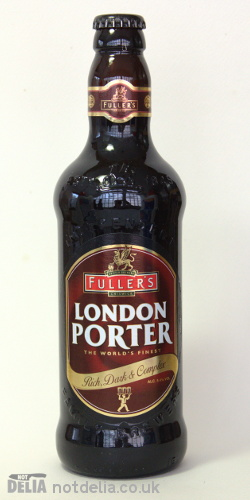 A bottle of Fuller's London Porter
