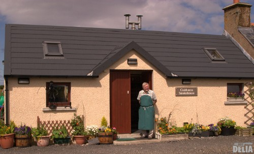 The Caithness Smokehouse with proprietor John Inglis