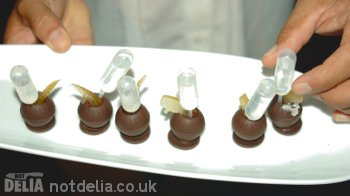 Chocolate tequila shooters