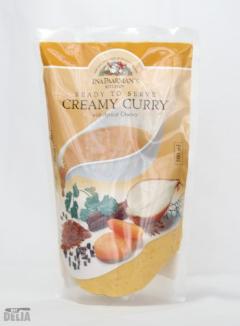 Ina Paarman's Creamy Curry with Apricot Chutney