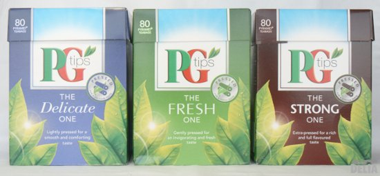 PG tips tea bags - The New Ones