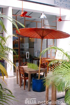 Naturae restaurant in Phnom Penh's Road 240