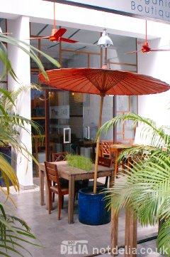 Naturae restaurant in Phnom Penh's Road 240