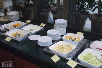 Fresh fruit at a buffet