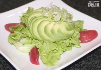 Avocado salad from Fuji