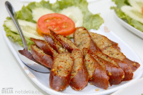 Northern-style spicy pork sausage